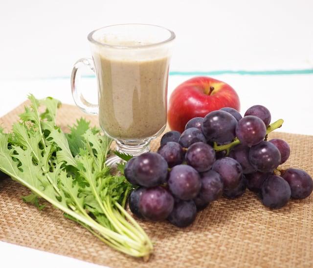 增強體力蔬果汁。(活水源天癒農法蔬果食品提供)
