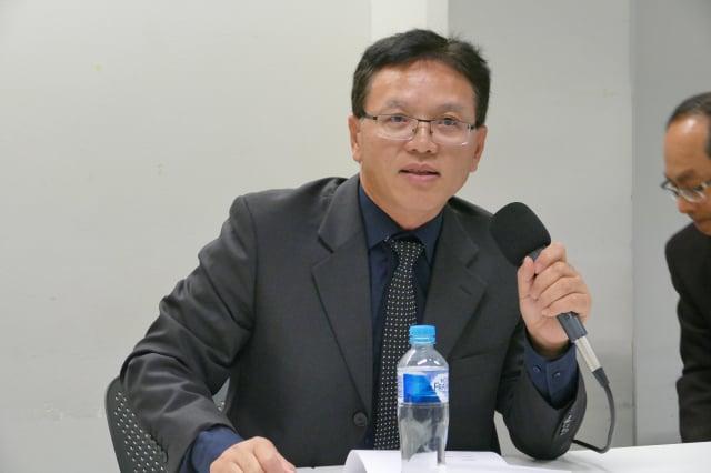 前中共駐雪梨總領事館祕書陳用林。資料照。(記者安平雅/攝影)