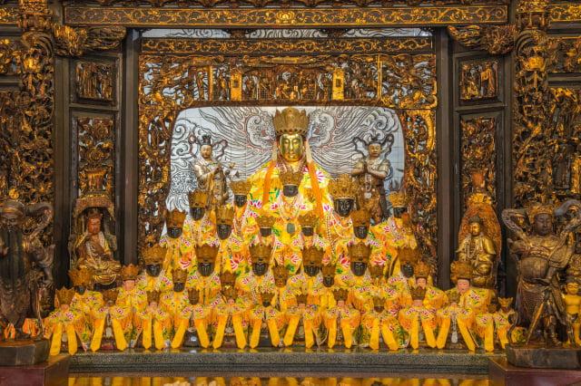 桃園壽山巖觀音寺今年的成道法會將停辦,僅由廟方辦理誦經祈福儀式,代表信眾恭祝觀世音菩薩成道。