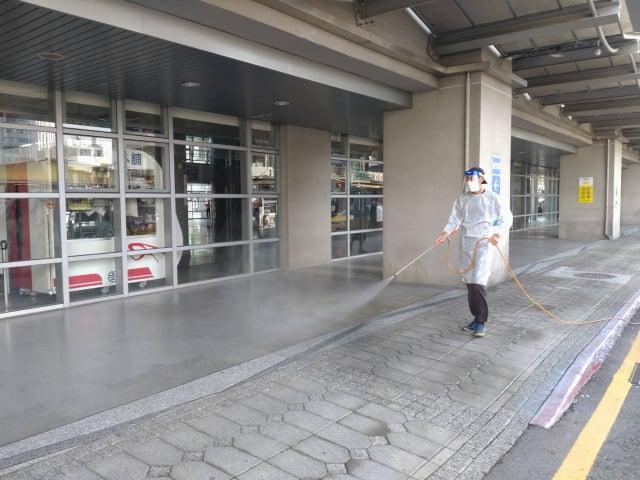 屏東縣政府公布新北確診者屏東足跡,並已完成環境消毒作業。(屏東縣政府提供)