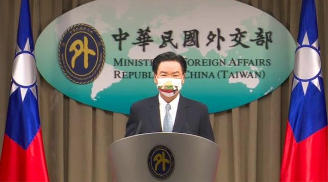 外交部長吳釗燮20日宣布,我國將設立「駐立陶宛臺灣代表處」,這是第一個以臺灣為名的歐洲外館。(外交部直播記者會)