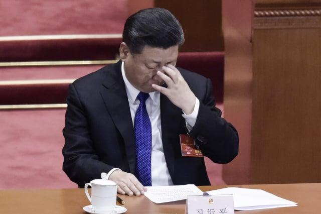 中國國家主席習近平(圖,資料照)多次提出「科技強國」後,近期中共不少省級黨政「一把手」都多了一個新頭銜。(FRED DUFOUR/AFP via Getty Images)