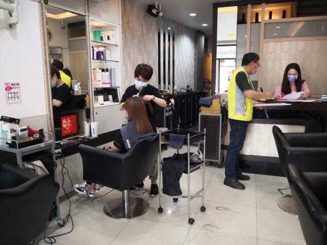 店內上門顧客以預約方式保持一對一,減少等候,落實防疫人流管制。