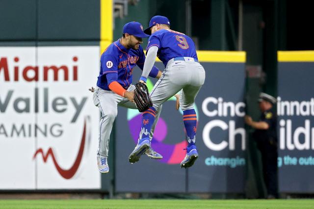 大都會單場7轟擊退對手。(Dylan Buell/Getty Images)