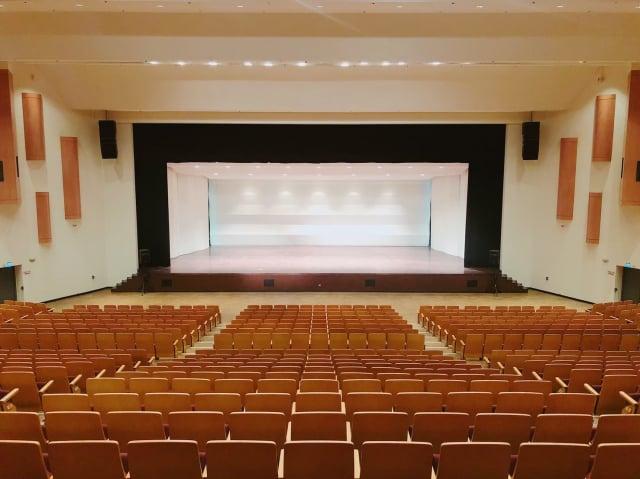 中壢藝術館音樂廳。