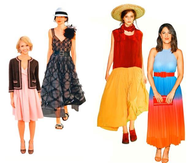 拋開顯老的穿搭習慣,以小配件穿搭出高質感的春、夏活力色彩。(Getty Images)