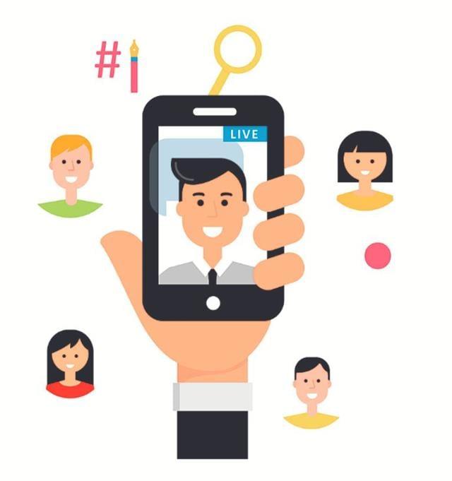 疫情期間,各業者無不想方設法在營運上,讓自家品牌曝光,且能有一定的亮度,而「線上直播」就是一種可用且有效的銷售工具。(123RF)