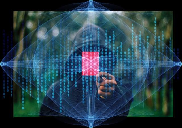 圖為駭客示意圖。(Pixabay)