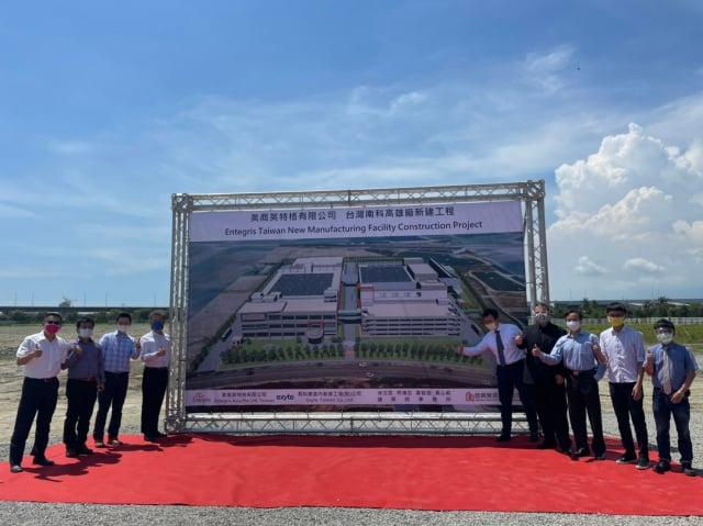 美商英特格投在高市路科打造全臺最大製程中心。(高雄市政府提供)