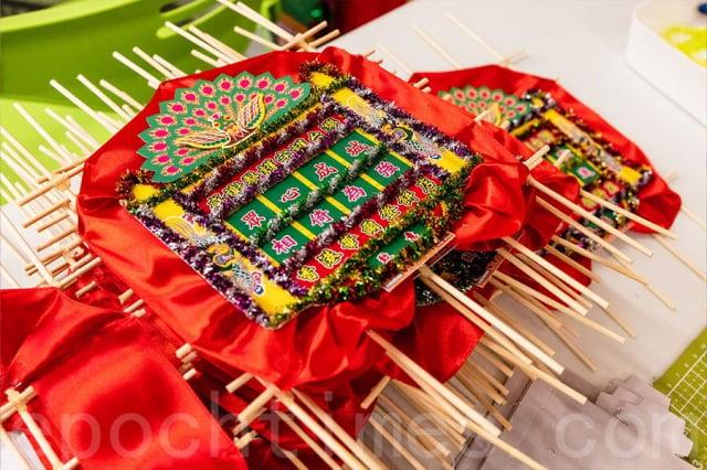 陳聲形容當花牌製作活動發起時,來自全港各行業的義工可謂是「一呼百應」,都願意用自己的雙手做一份心意送到台灣。
