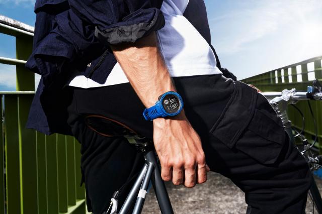 Instinct Solar太陽能GPS智慧腕錶。(Garmin提供)