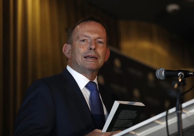 澳洲前總理艾波特(Tony Abbott)日前撰文表示,對全球供應鏈來說,印度可「完美取代」中國。(Ryan Pierse/Getty Images)