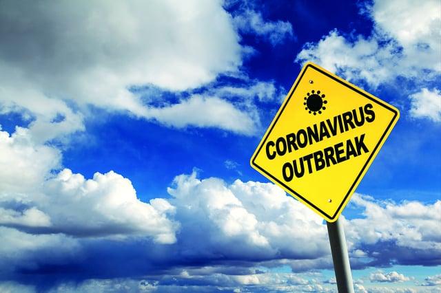 冠狀病毒暴發。(123RF)