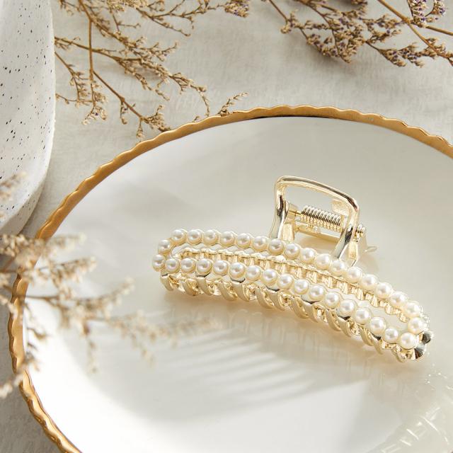 高貴甜美的珍珠抓夾。(POYA寶雅提供)