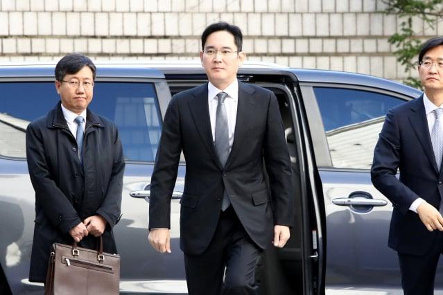 韓國三星集團實際掌控人、副會長李在鎔。(Chung Sung-Jun/Getty Images)