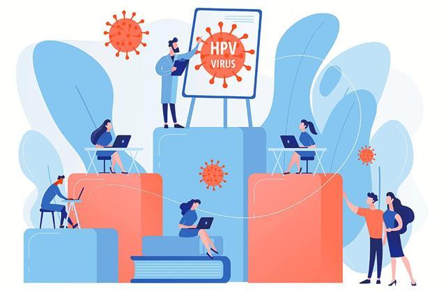 真正感染人類乳突病毒的途徑不明,臨床也發現,不一定要有傷口才會傳染。不同部位的人類乳突病毒,不會互相傳染。不論有無症狀的人類乳突病毒帶原的,皆可傳播病毒。(123RF)