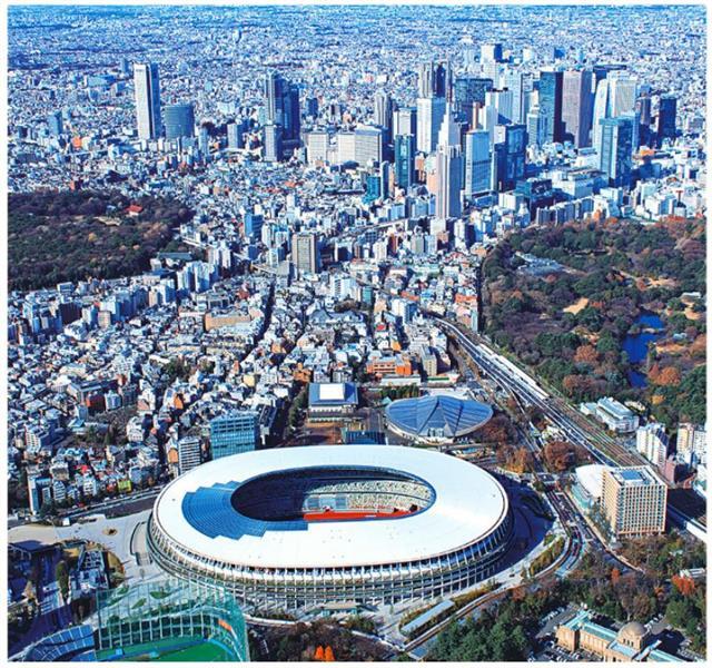 2020東京奧運主館。(123RF)