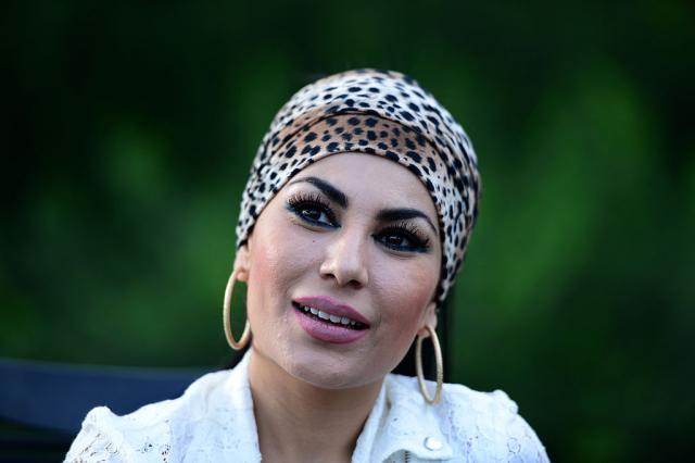 阿富汗女歌星薩伊德資料照。(MASSOUD HOSSAINI/AFP via Getty Images)