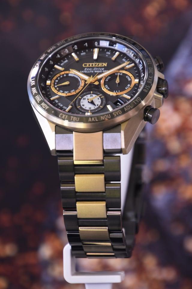 光動能GPS衛星對時腕錶CC4016-75E參與世界首次商業月球探測計畫「HAKUTO-R」。(記者黃宗茂/攝影)