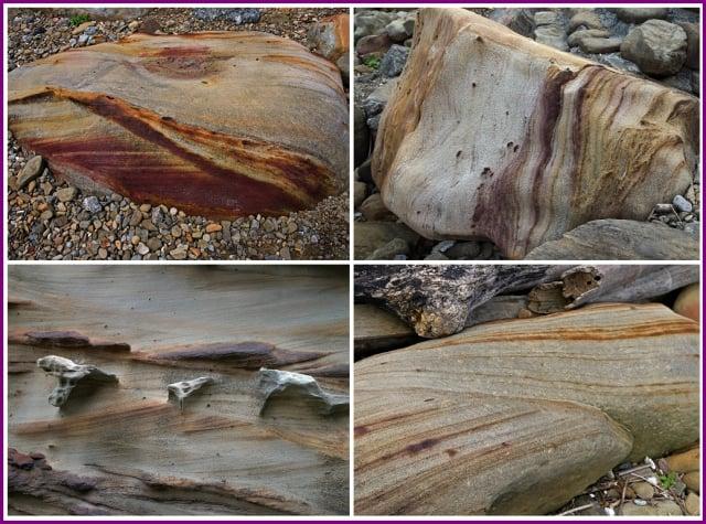 長年累月受東北季風與強浪侵蝕,因此形成各種千奇百怪的岩石景觀。(攝影/鄭清海)