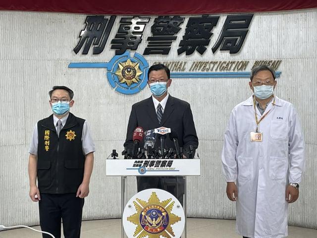 刑事局副局長黃家琦表示,今年7月14日已將「2–碘–甲基苯丙酮」公告為第四級毒品。(記者袁世鋼/攝影)