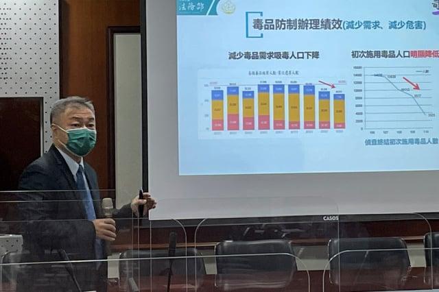 法務部保護司副司長吳怡明表示,施用大麻會對身心健康造成重大危害。