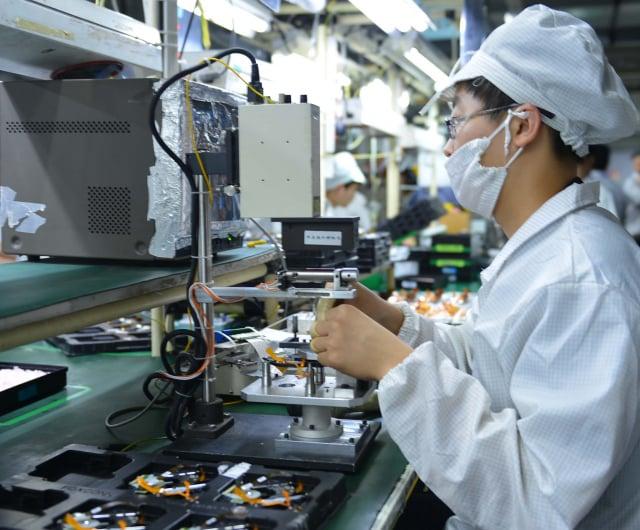 經濟部長王美花1日表示,製造業出口表現亮眼,使得工資調漲勢在必行。圖為示意圖。(大紀元資料室)