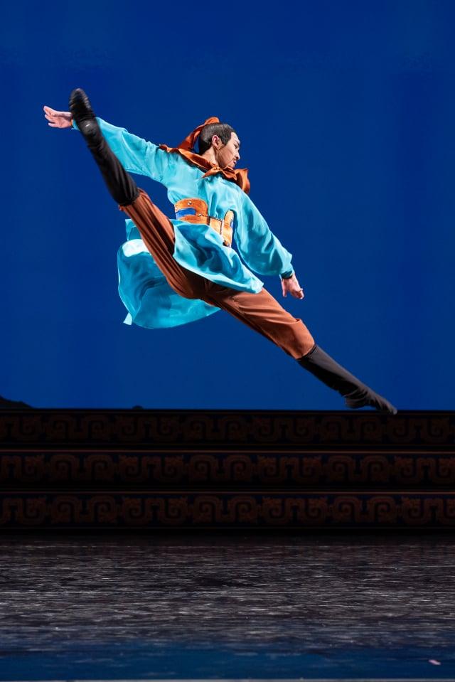 來自紐約飛天藝術學院的第九屆全世界中國古典舞大賽選手胡昊清。( 愛德華/大紀元)