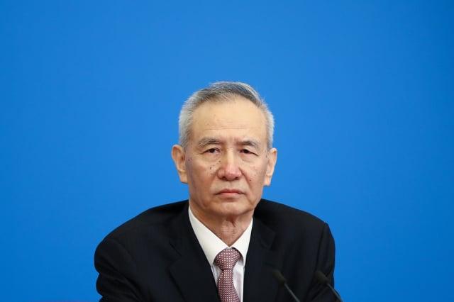 中共副總理劉鶴發聲挺民企,被認為是幫「文革2.0」滅火。圖為資料照。(Lintao Zhang/Getty Images)