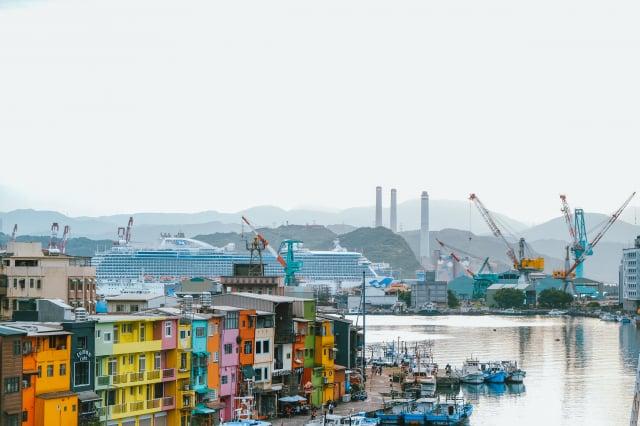 基隆正濱漁港。(Booking.com提供)