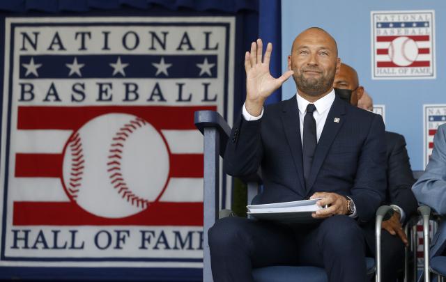 基特入主棒球名人堂。(Jim McIsaac/Getty Images)