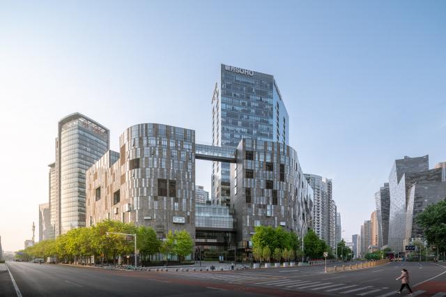 SOHO中國總部。(AsAuSo/維基百科)