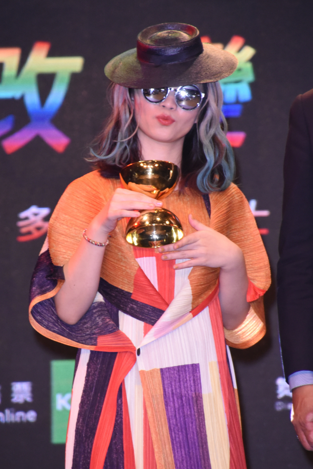 ?te壞特獲得第32屆金曲獎最佳新人獎。(記者黃宗茂/攝影)