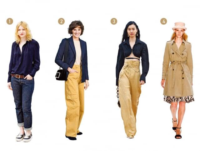 裝扮簡約又時髦,看似隨意又低調的時髦感(Effortless Chic),便是法式穿搭的最大特點。那股漫不經心的從容,與渾然天成的自信,羨煞許多女孩。(Getty Images)
