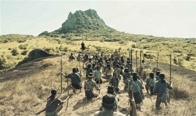 公視在屏東拍攝的戲劇《斯卡羅》,故事場景發生在恆春半島。(公視提供)