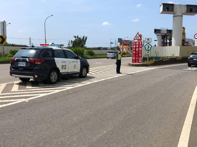 中秋連假,桃園大溪分局交通疏導措施。