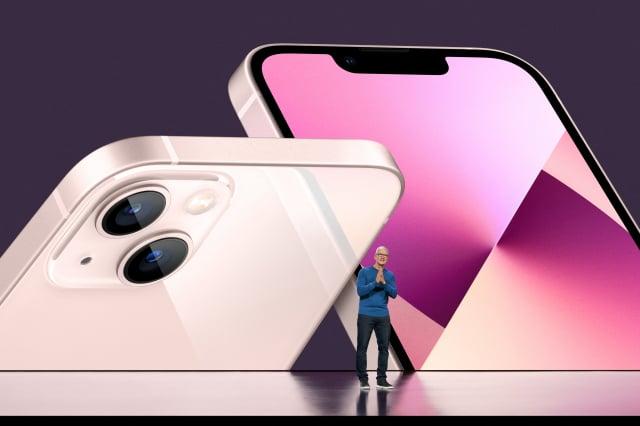 蘋果公司週二(9月14日)在其加州庫珀蒂諾公司總部召開新品發表會。(Brooks Kraft / Apple Inc. / AFP)