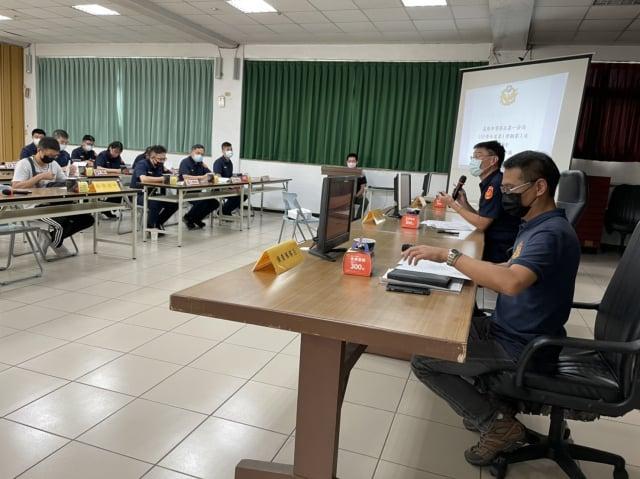 基警召開校園安全三級聯繫會議。(基隆市警察局提供)