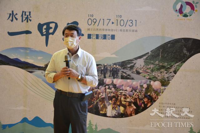 李鎮洋局長希望透過教育把經驗傳承給下一代,讓台灣永續發展。