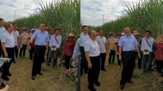 9月16日,中共總理李克強赴廣西玉林考察,有民眾當面訴苦「農村娶媳婦太難了」。(網路影片擷圖)