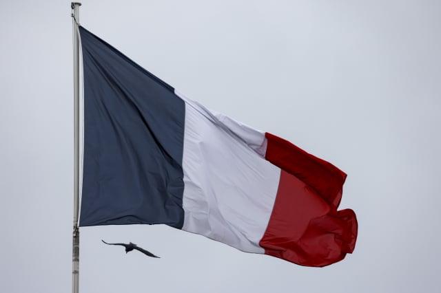 圖為法國國旗。(LUDOVIC MARIN/AFP via Getty Images)