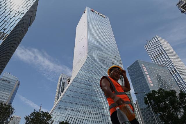 包括恆大集團在內的中國房地產業者傳出債務問題,數量不少。(NOEL CELIS/AFP via Getty Images)