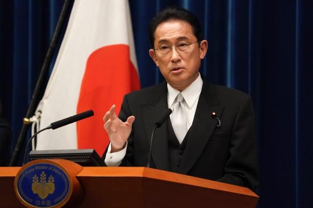 民調顯示,日本自民黨總裁岸田文雄目前的支持率,應足以讓該黨在國會選舉中保持多數席位。岸田資料照。(Toru Hanai-Pool/Getty Images)